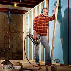 Basement: Finishing, Waterproofing, Organizing