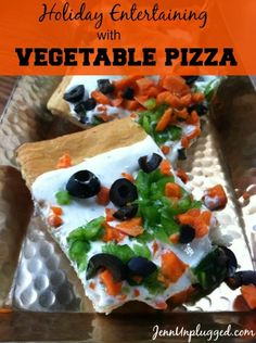 Vegetable pizza