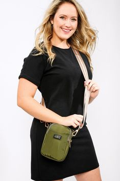 DM Merchandising's Kedzie CROSSTOWN PURSE: Front slip pocket, Two zippered main compartments, Zippered valuables pocket Adjustable, removable strap Convenient top handle, and Custom two-tone lining Handle, Pocket, Purses, Top, Fashion, Handbags, Moda, Fashion Styles, Fashion Illustrations