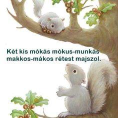 Nyelvtörők Kindergarten Crafts, Preschool, Baby Hippo, Infant Activities, Kids And Parenting, Dinosaur Stuffed Animal, Education, Creative, Baby Hippopotamus
