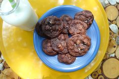 Our Fudge Chocolate Chip Cookies.  Photos courtesy of Akron Ohio Moms.