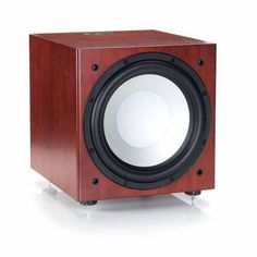 """Using the latest switch mode power conversion techniques, the Monitor Audio RXW-12 active subwoofer's new 500 watt Class D amplifier provides enough power to control with brutal efficiency a newly designed, 12"""" C-CAM driver."""