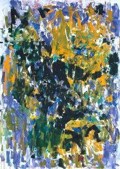 Tournesols, 1976 by Joan Mitchell