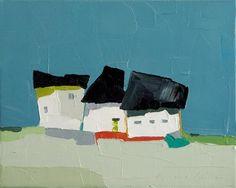 """Daily Paintworks - """"Blue Sky"""" - Original Fine Art for Sale - © Donna Walker"""