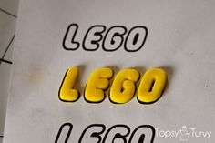 lego-head-cake-tutorial-logo-drying by ashleemarie.com_ love the letters