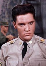 Elvis in G.I. Blues, 1960.