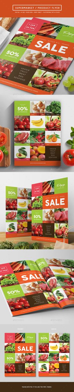 Supermarket / Product Flyer - Corporate Flyers