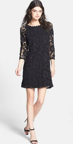 little black dress @Nordstrom
