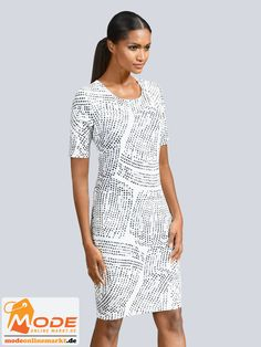 Jerseykleider eignen sich dank ihrer bequemen Trageeigenschaften als perfekter Begleiter für viele Gelegenheiten E... #BAUR #AlbaModa #Rabatt #20 #Marke #Alba #Moda #Farbe #grau #Material #Elasthan #Polyester #Muster #Unifarben #Onlineshop #BAUR #Damen #Bekleidung #Damenmode #Kleider #Sale #Shirtkleider | sportliche Outfits, Sport Outfit | #mode #modeonlinemarkt #mode_online #girlsfashion #womensfashion Alba Moda, Sport Outfit, Short Sleeve Dresses, Dresses With Sleeves, Mode Online, Dresses For Work, Fashion, Ballerina Dress, Communion Dresses
