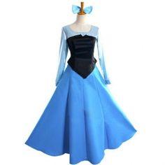 The Little Mermaid Princess Ariel Dress Costume.Size: Standard size or custom size. Ariel Dress Costume, Ariel Costumes, Blue Costumes, Costumes For Sale, Adult Princess Costume, Disney Princess Costumes, Disney Princess Dresses, Disney Dresses, Disney Princesses