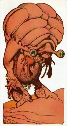 Edd Cartier - Travelers of Space (Gnome Press 1951) 10 by Aeron Alfrey, via Flickr