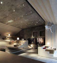 중고차 경매대행 NS모터스 정제연 :: [Shop Design] Alter Store by 3Gatti Architecture Studio