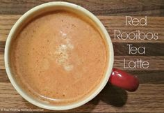 South Africa's favorite latte that is loaded with antioxidants and naturally caffeine free. http://www.thehealthyhomeeconomist.com/caffeine-free-red-rooibos-latte/