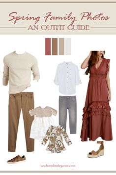 Fall Family Picture Outfits, Family Photo Colors, Family Photos What To Wear, Summer Family Pictures, Fall Family Photos, Family Pics, Family Picture Clothes, Family Photography Outfits, Family Portrait Outfits