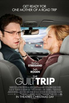 100 Movie Challenge 2014, 36/ 100: The Guilt Trip, Rating: 2/ 5
