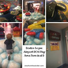 Airport play area ratings flying with little ones
