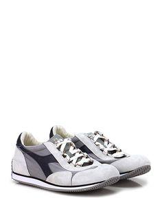 e0cfd71156 DIADORA Heritage - Sneakers - Uomo - Sneaker in tessuto e camoscio effetto  vintage con suola