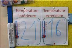 Date et météo : un peu de changement !