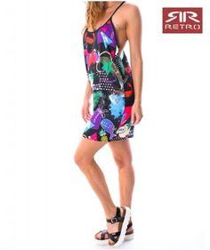 Arabella dress Retro Jeans Retro Dress, Jeans, Swimwear, Dresses, Fashion, Bathing Suits, Vestidos, Moda, Swimsuits