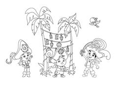 jake and the never land pirates coloring pages coloring
