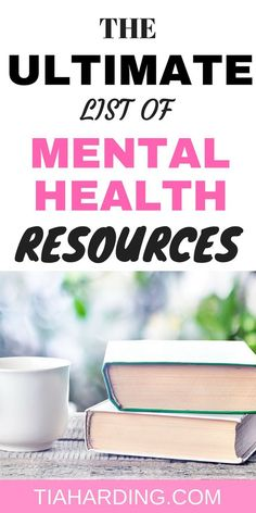 Mental Health illness can be overwhelming. The ultimate list of mental health resources is here to help you cope and overcome depression. Mental Health Therapy, Mental Health Illnesses, Mental Health Recovery, Mental Health Resources, Mental Health Care, Mental Health Disorders, Improve Mental Health, Mental Health Awareness, Mental Illness