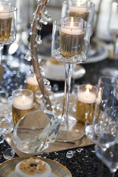 Black and Gold Wedding Inpiration from Tim Duncan Events