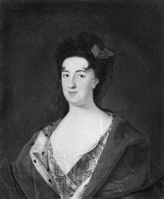JOHAN STARBUS - Anna Leszczyńska nee Jabłonowska, ca. 1712, National Museum Stockholm