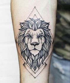 Tattoo leão