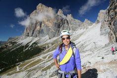 Skiing atCortina d'Ampezzo, Italy