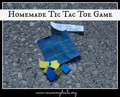 Homemade Tic Tac Toe