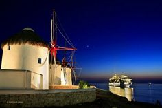 Mykonos Cyclades - Greece - photo by: Hercules Milas Mykonos Island, Mykonos Greece, Santorini, Great Places, Places To Go, Beautiful Places, Myconos, Mykonos Hotels, Luxury Villa Rentals