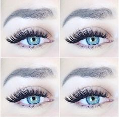 Useful Guide To Eyelash Extensions: Russian Lashes? – My hair and beauty How To Draw Eyelashes, Fake Lashes, Long Lashes, Mink Eyelashes, Russian Lashes, Eye Makeup, Makeup Tips, Eyelash Extensions Styles, Dermal Piercing