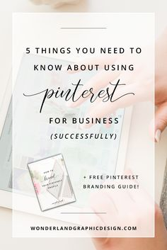 Pinterest is definitely a way to lose hours of our time having fun.  However, it is no longer just for inspiration, recipes and pretty pictures;  it can be a key marketing tool in the online business world. Here I'm  sharing five important things you need to know about using Pinterest for  busin