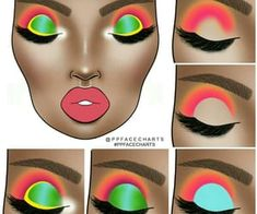Image shared by Find images and videos about beauty, art and aesthetic on We Heart It - the app to get lost in what you love. Pink Eye Makeup, Makeup Eye Looks, Bridal Makeup Looks, Eye Makeup Art, Colorful Eye Makeup, Girls Makeup, Black Girl Makeup, Skin Makeup, Makeup Inspo