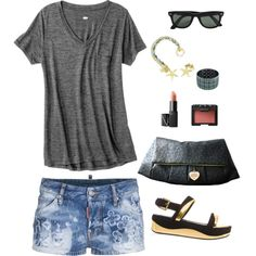 "http://www.merrily-oyo.com/  ""Casual style"" by merrily-shop on Polyvore"