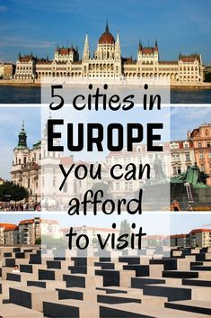 5 affordable cities in Europe. Berlin, Prague, and Warsaw are on this list with tips for places to go!