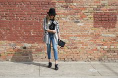 High End Hippie - Striped Trench