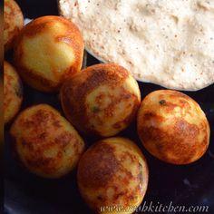 Masala Paniyaram & Coconut Chutney.I used leftover dosa batter to prepare this #guiltfree #snacks #southindian #chettinad #tamilcuisine #yummy #vegan #glutenfree