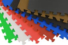 Eco-Soft Tiles - Interlocking Foam Mats