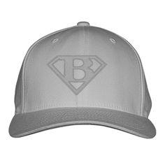 c64105beda0 SUPER LETTER B Embroidered Baseball Cap