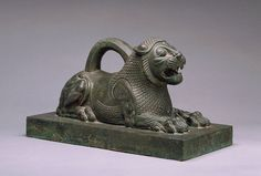 Weight lion-shaped. Achaemenid era, sixth - fourth century BC Susa  - Acropolis. Louvre Museum
