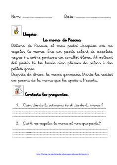 Dossier de gramatica Valencia, Catalan Language, Comprehension, Grammar, Wordpress, English Language, Teaching, Writing, School