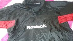 Vintage 90s Reebok Big Logo Colorblock 3/4 Zip by Makinscents