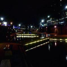 Instagram【worldaroundga】さんの写真をピンしています。 《中港大排。  #river #riverside #night #view #water #light #city #nightsky #nightview #life #skyline #nightout #nightime #landscape #landscape_lovers #scenes #igerstaiwan #iseetaiwan #taiwantrip #building #lamp #台湾 #中港大排 #新莊  #橋 #台北 #夜景 #夜 #綺麗 #空》