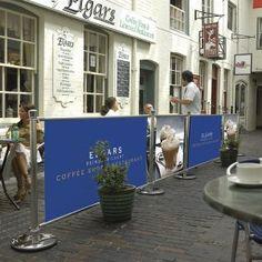 Cafe Barriers www.theprint-shop.uk