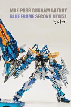 Custom Build: MG 1/100 Gundam Astray Blue Frame Second Revise + Caletvwlch - Gundam Kits Collection News and Reviews