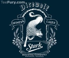 Get this TeeFury.com Shirt right now! Grab this parody Game of Thrones House Stark shirt today.