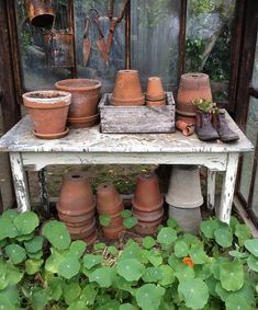 Fantastic Tips Can Change Your Life: Garden Tool Organization Lawn garden tool hanger products.Garden Tool Crafts Woods vintage garden tool potting be Lawn And Garden, Garden Pots, Garden Sheds, Garden Tool Organization, Life Organization, Potting Tables, Dream Garden, Container Gardening, Gardening Tools