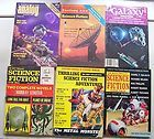 Lot of 6 VINTAGE SCIENCE FICTION Magazines - FICTION, Magazines, SCIENCE, Vintage