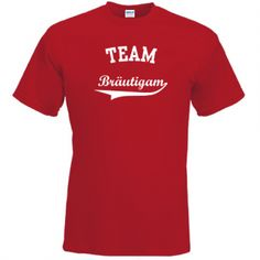 Team Bräutigam JGA Junggesellenabschied T-Shirt